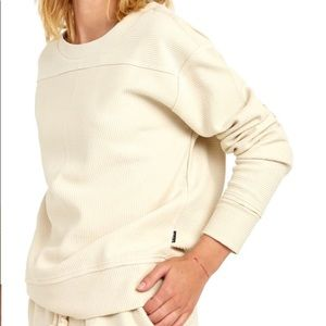 RVCA Maddy Ribbed Sweatshirt